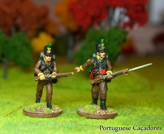 Cacadores. Perry Miniatures 40mm.
