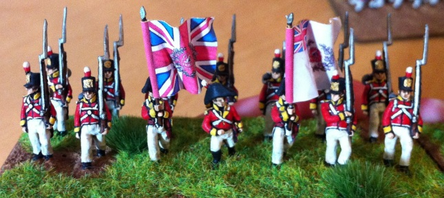 East Norfolk Regiment of Foot. AB Figures. 18mm.